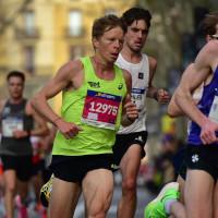 Adrian Lehmann am Barcelona Halbmarathon